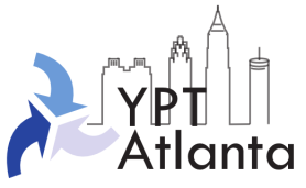 YPT Atlanta logo Skyline white