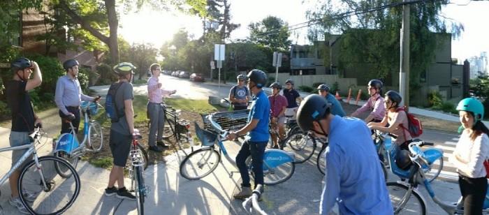 van summer bike tour 2017